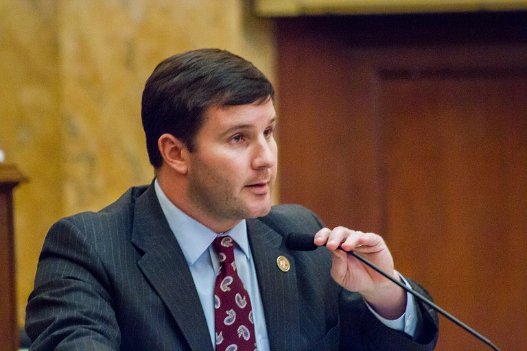 Rep. Trey Lamar, R-Senatobia, introduced legislation to entice recent college graduates to live and work in the state; it passed the House unanimously on Wednesday.