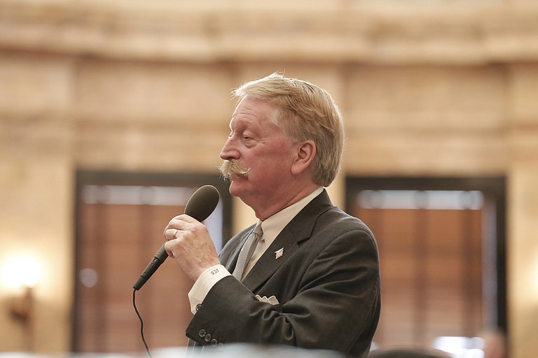 """Rep. Jeff Smith, R-Columbus, brought the """"One Lake"""" bond bill back for a vote after representatives had initially killed the measure. It passed by three votes on Thursday, Feb. 22."""