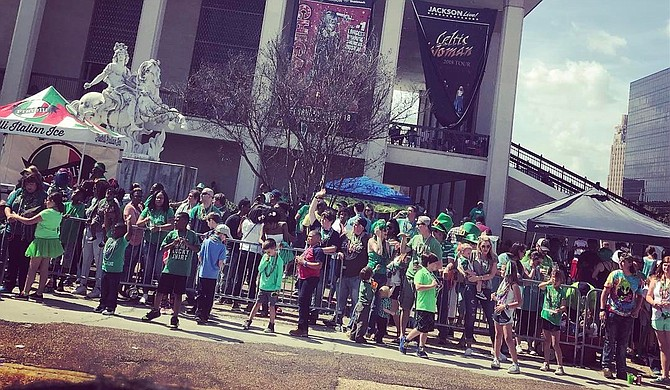 """Hal's St. Paddy's Parade & Festival is one example of a """"crazy Jackson idea"""" that has taken off and become part of local culture. File Photo"""