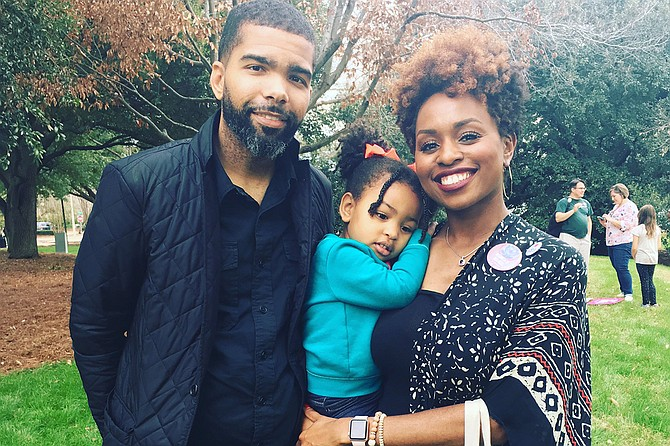 With the new addition to the Lumumba family, Mayor Chokwe Antar Lumumba is taking paternity leave from March 22, 2018, to April 3, 2018. Photo courtesy Lumumba Family