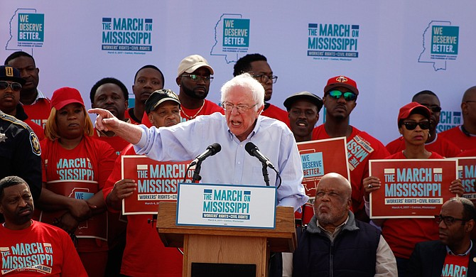 "U.S. Sen. Bernie Sanders, an independent politician from Vermont, came to Canton in March to support some Nissan workers' effort to unionize, which failed. He routinely emphasizes economic ""class"" issues over racism, which turns off many black voters."