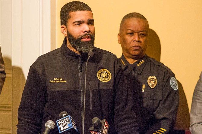 As the City prepares for the first officer-identification task-force meeting on April 11, Mayor Chokwe A. Lumumba and Interim Police Chief Anthony Moore might not be in sync when it comes to officer-involved shootings.