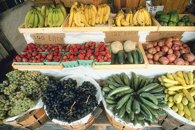 We have tons of healthy options here, more than I sometimes think about. We have opportunities to enjoy local produce, whether it's from the Mississippi Farmers Market or one of the great produce-pack programs in the area, such as Foot Print Farms or Up in Farms Food Hub.