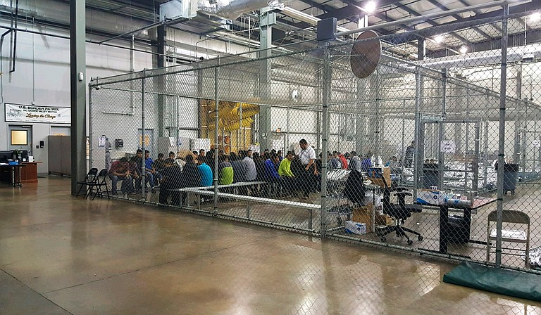 An audio recording that appears to capture the heartbreaking voices of small Spanish-speaking children crying out for their parents at a U.S. immigration facility took center stage in the growing uproar over the Trump administration's policy of separating immigrant children from their parents.