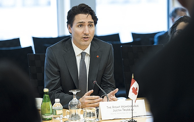 Marijuana will be legal nationwide in Canada starting Oct. 17 in a move that should take market share away from organized crime and protect the country's youth, Prime Minister Justin Trudeau said Wednesday.