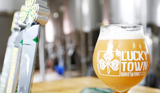 During Tap Takeover, Lucky Town will have several of its craft beers, including Ballistic Blonde and Lucky Town Pub Ale, on tap at the restaurant, as well as The District's go-cup station.