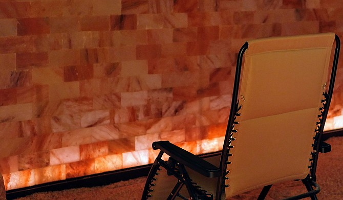 Among its many services, Soul Synergy Center houses a salt cave for halotherapy.