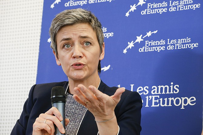 EU Competition Commissioner Margrethe Vestager said that given the size of the company, the 4.34 billion euro fine is not disproportionate. The penalty is on top of 2.42 billion euro fine ($2.8 billion) that regulators imposed on Google a year ago for favoring its shopping listings in search results.