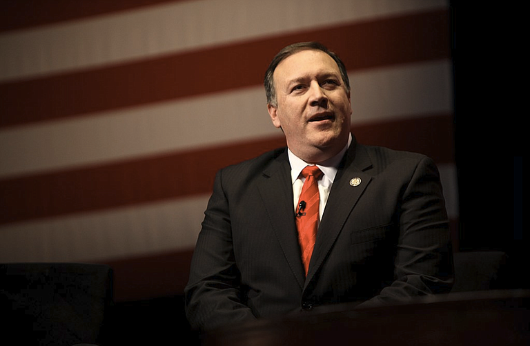 """Secretary of State Mike Pompeo issued a statement titled the """"Crimea Declaration"""" in which he said the U.S. will continue to insist that Ukraine's territorial integrity be restored."""