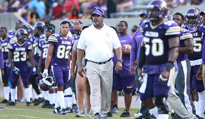 Alcorn coach Fred McNair