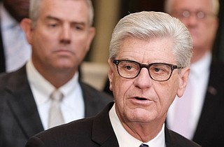 Mississippi Gov. Phil Bryant is seeking a U.S. Supreme Court ruling that transgender people are exempt from federal civil-rights protections from hiring discrimination.