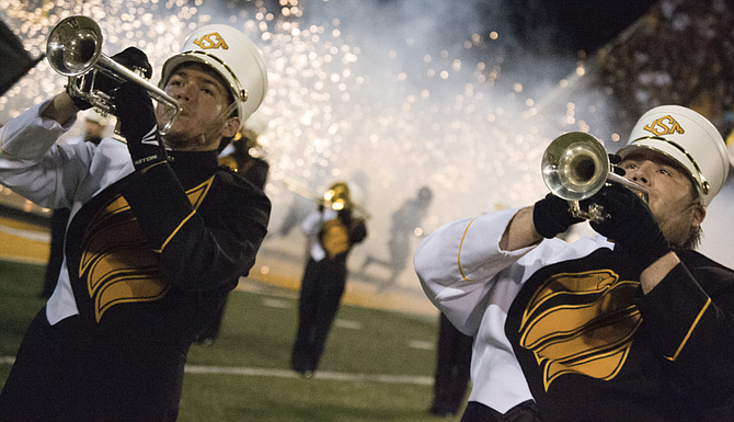 More than 300 high-school band students from across #Mississippi, Alabama, Louisiana and Florida will come to the University of Southern Mississippi to perform alongside the university's Pride of Mississippi Marching Band during All-South Marching Band Day.