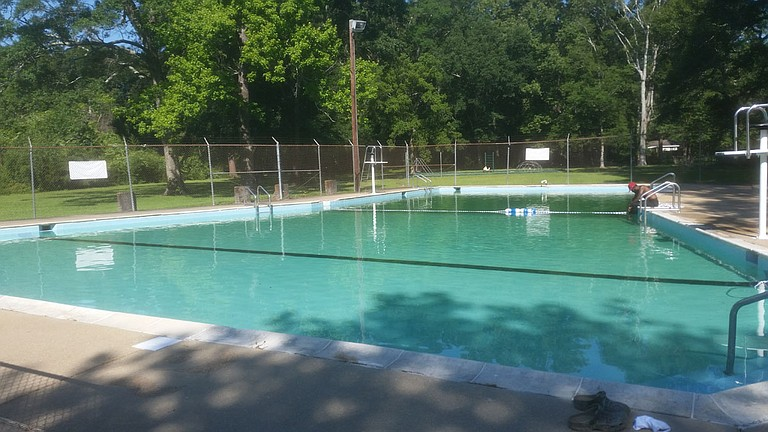 After the City of Jackson shut the Terry Road pool down in 2016, New Horizon Ministries took on the task of renovating it.