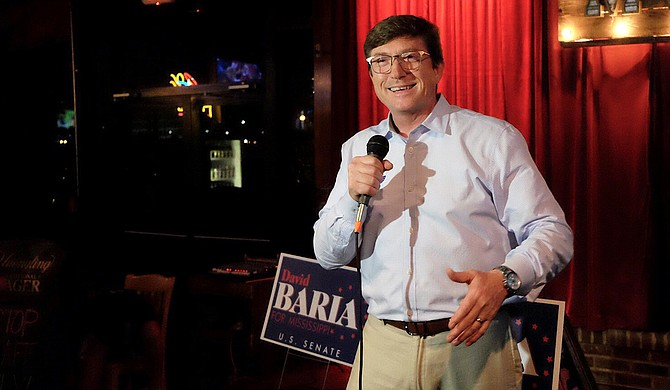 "In his first campaign ad, Democratic U.S. Senate nominee David Baria embraced liberal views on abortion, guns, health care and economic issues, breaking with past Democratic candidates who shied away from liberal policies in an attempt to woo conservative voters. The night he won the nomination in June, Baria declared he didn't want to ""run away"" from his true positions."