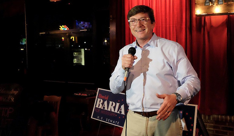 """In his first campaign ad, Democratic U.S. Senate nominee David Baria embraced liberal views on abortion, guns, health care and economic issues, breaking with past Democratic candidates who shied away from liberal policies in an attempt to woo conservative voters. The night he won the nomination in June, Baria declared he didn't want to """"run away"""" from his true positions."""