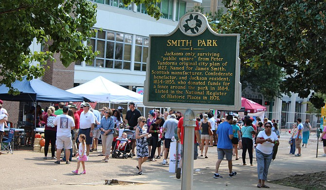 The 2018 BankPlus International Gumbo Festival is Saturday, Sept. 22, at Smith Park from 11 a.m. to 5 p.m.
