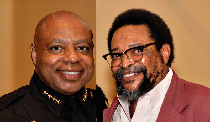 The Jackson City Council unanimously confirmed James Davis (left) as chief of Jackson Police Department and Frank Figgers (right) of Ward 3 as the final appointee to the Jackson Public Schools Board of Trustees at a special meeting Sept. 20, 2018 at 10 a.m.