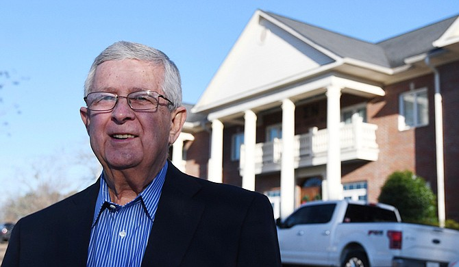 Ed Meek's controversial Facebook post from Sept. 19, 2018, of two black University of Mississippi students paired with a caption blaming them for crime and plummeting property values launched a student campaign to have his name removed from the School of Journalism and New Media. Photo courtesy Bruce Newman/The Oxford Eagle via AP