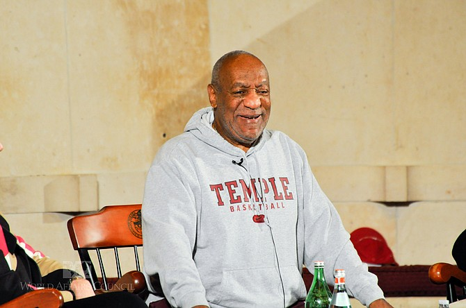Actor and comedian Bill Cosby has received a sentence of three to 10 years for a 2004 sexual assault. Flickr/wacphiladelphia
