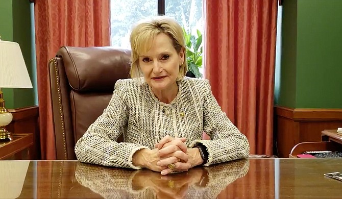 "U.S. Sen. Hyde-Smith, R-Miss., suggested opponents of Brett Kavanaugh's confirmation to the U.S. Supreme Court were ""evil"" in a video posted on Twitter."