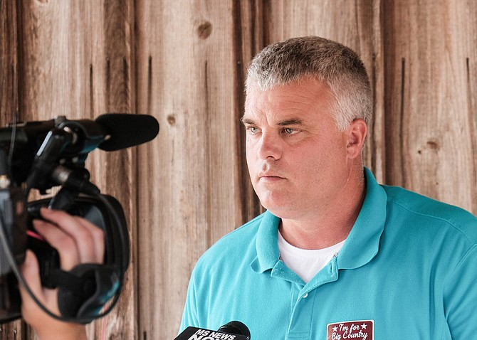 "Michael Ted Evans, the Democratic candidate for Mississippi's third congressional district, has accused his Republican opponent of being ""scared"" to debate."