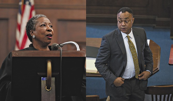 Hinds County Circuit Judge Tomie Green and District Attorney Robert Shuler Smith faced off on the Internet this summer.