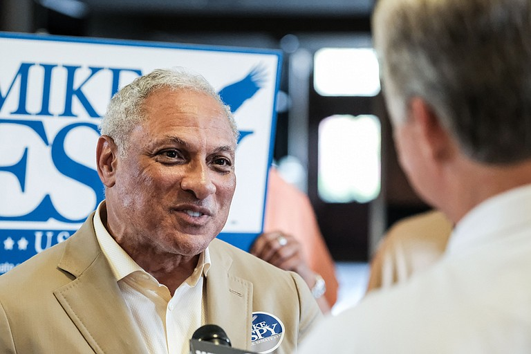 U.S. Senate candidate Mike Espy addressed Jacksonians at a community forum Nov. 14, 2018. This photo by Ashton Pittman is from Sept. 23, 2018.