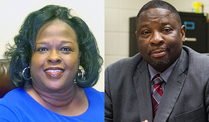 Former Hinds County District Attorney Faye Peterson and Henley-Young Juvenile Detention Center Executive Director Johnnie McDaniels are in two of the six judicial races on the Nov. 27 runoff ballot. courtesy Faye Peterson; file photo