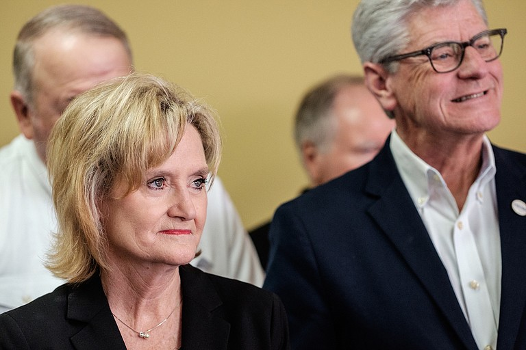 U.S. Sen. Cindy Hyde-Smith (left) lives in a bubble of white privilege and does not deserve to be U.S. senator, a benefit of that privilege says. Photo by Ashton Pittman