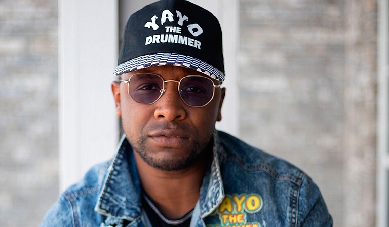 """Jackson-native percussionist Matthew Mayberry has made a career as a percussionist for hip-hop artists such as Lil Wayne and is currently working on a solo release titled """"The Rhythm Wars Project."""" Photo courtesy Shots on Taylor"""
