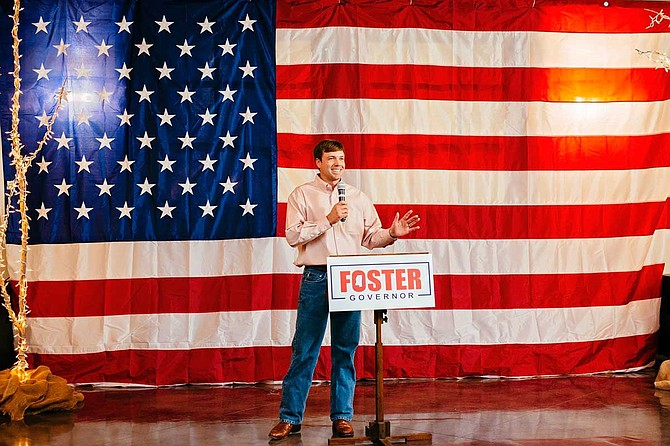 Rep. Robert Foster, R-Hernando, announced his campaign for governor on Tuesday, Dec. 11, 2018. Photo courtesy Robert Foster for Mississippi