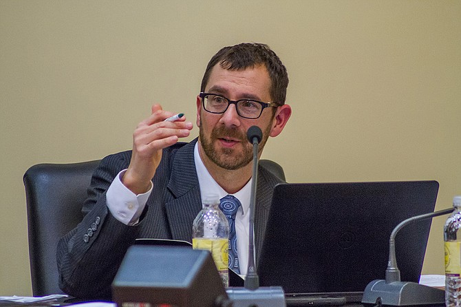 """At the Dec. 18 school board meeting for Jackson Public Schools, board members like Vice President Ed Sivak learned that 44 percent of JPS high-school students are truant, and 34 percent have already missed 10 percent of the school year. He flagged the numbers as a """"crisis."""""""