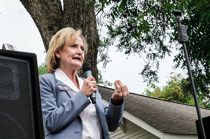 """U.S. Sen. Cindy Hyde-Smith, R-Miss., refused to return about $50,000 in donations to companies that requested refunds after her """"public hanging"""" comments surfaced last month."""