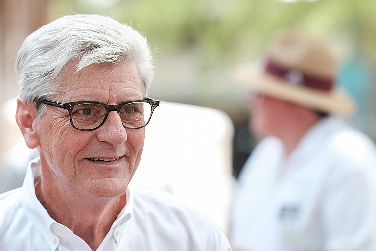 Mississippi Gov. Phil Bryant urged President Trump to shut down the U.S. border with Mexico, even though such a move would threaten trade with Mississippi's third largest export partner. Photo by Ashton PIttman