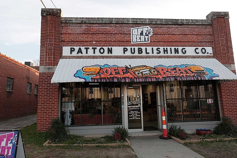 Instead of centering my New Year's resolution on things that just benefit me, I decided to focus on shopping and eating locally as often as possible to help bolster the Jackson businesses I want to support, such as Offbeat in midtown.