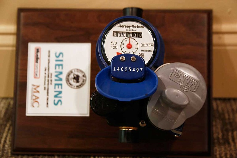The City of Jackson signed a hefty contract with Siemens Inc. for new, and supposedly more accurate, water meters—but that did not happen. The company says now that it fulfilled its contractual obligations even as the City fights to recoup money after not billing for water for a year or more. File photo by Imani Khayyam