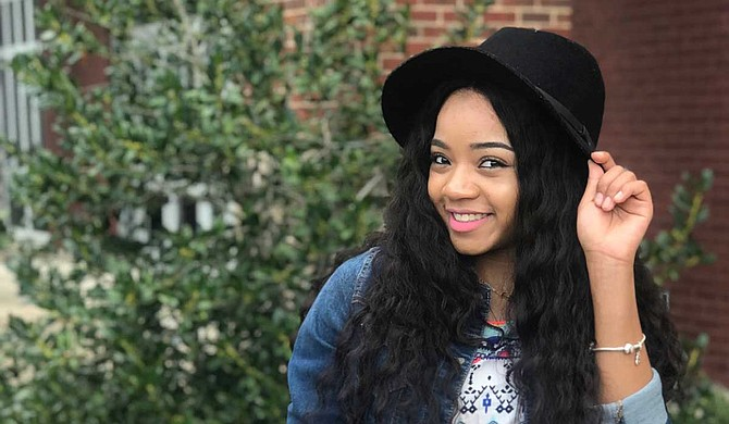 Former Dancing Doll Faith Simone Thigpen eventually wants to bring her talents back to Jackson and open dance studios in the area. Photo by Maranda Joiner