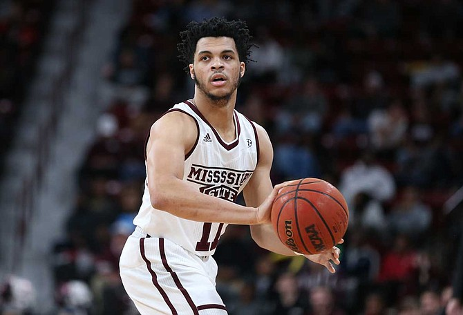 Quinndary Weatherspoon has improved each year since he was named to the all-SEC freshman team in 2015 and the All-SEC first and second team squad the last three years, said Bulldogs head coach Ben Howland. Photo courtesy MSU Athletics