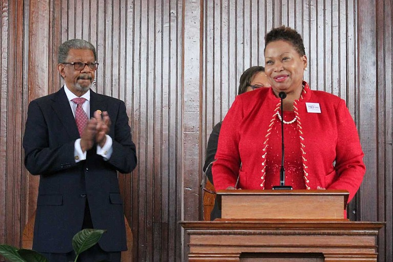 Carmen J. Walters, an experienced leader in higher-education academia, begins her new term as president of Tougaloo College in June 2019. Photo courtesy Tougaloo College