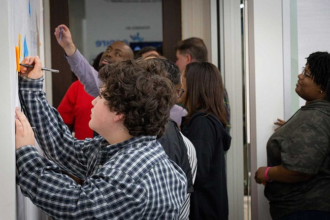 During Startup Weekend March 1-3, entrepreneurs learned what it takes to grow something from an idea into a full-fledged business. Photo courtesy Innovate Mississippi