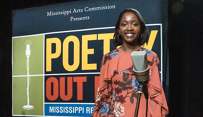 Taylor Mills of Northwest Rankin High School is this year's state champion and will represent Mississippi at the Poetry Out Loud national finals in Washington, D.C., April 30-May 1. Photo courtesy MPB