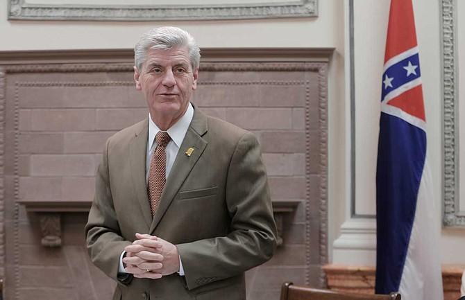 """Mississippi Gov. Phil Bryant declared April 2019 as a """"Month of Unity"""" in Mississippi. In past years, he declared April """"Confederate Heritage Month."""""""