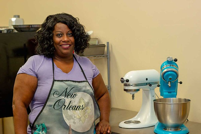 Regina Wallace opened Heavenly Sweetz Bakery at The Hatch in midtown in October 2018.