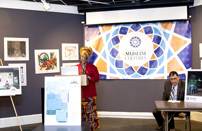 Okolo Rashid says the International Museum of Muslim Culture's newest exhibit explores Muhammad, not just as a prophet but also as a head-of-state. Photo courtesy IMMC