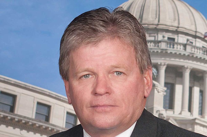 Deputies report Republican state Rep. Doug McLeod of Lucedale was drunk and holding a glass of alcohol when they arrived. Deputies report McLeod punched his wife and bloodied her nose. He is currently free on bail. Photo courtesy Mississippi House of Representatives