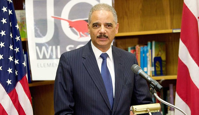 "Former U.S. Attorney General Eric Holder said a judge could order Mississippi to do what most states already do — ""count all the votes and the person who gets the greatest number of votes wins."" File Photo courtesy Department of Education"