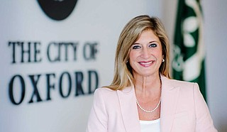 No explanation was given for the departures, which Mayor Robyn Tannehill (pictured) confirmed Wednesday to the Northeast Mississippi Daily Journal. Tannehill says state law prohibits her from commenting on personnel issues. Photo courtesy oxfordms.net
