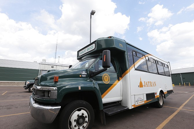 """The City of Jackson's public transportation service, JATRAN, will offer free rides on all of the city's fixed bus routes on Thursday, June 20, from 5 a.m. to 8 p.m. as part of """"Try Transit Day."""""""