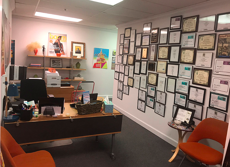 The Jackson Free Press's awards wall has been added to yet again.