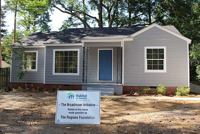 Habitat for Humanity Mississippi Capital Area will announce the launch of a five-year initiative to revitalize the historic Broadmoor neighborhood in north Jackson during a ceremony on Avalon Street at noon on Thursday, June 27. Photo courtesy Habitat for Humanity Mississippi Capital Area